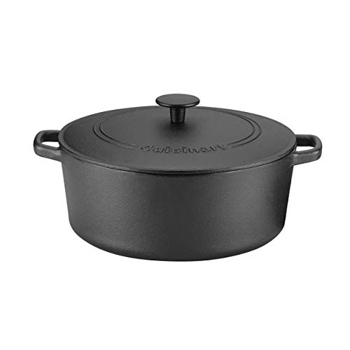 Cuisinart Classic Pre-Seasoned, 7 quart, Black