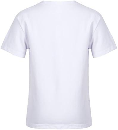Agoky Camiseta de Unicornio Niñas Blanca Blusa Manga Corta Camisa Cumpleaños Fiesta Algodón Verano T-Shirt 4-12 años Blanco 12 Años: Amazon.es: Ropa y accesorios