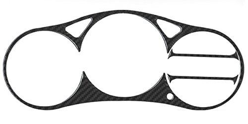 Bezel Overlay - REAL Carbon Fiber Instrument Gauge Cluster Bezel Overlay fit for 2000-2005 Toyota Celica