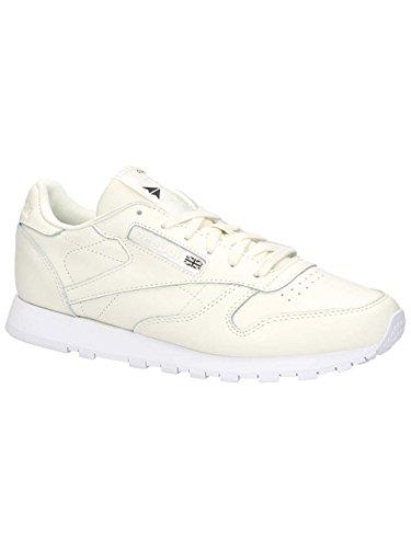 Reebok Damen Classico In Pelle X Faccia Sneaker Elfenbein (classico Whitewhiteblack 0)