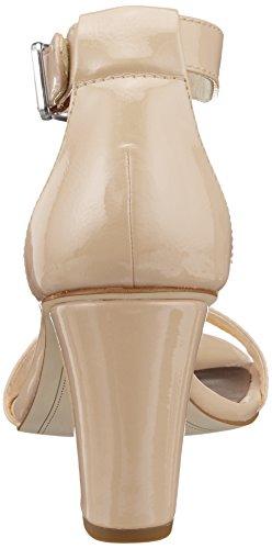 nude Beige Alla Cinturino Patent Con Sandali Caviglia Donna Tamaris 28018 qwa6ZSA