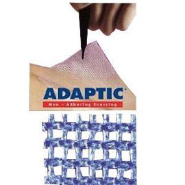 """Systagenix Adaptic Non-adhesive dressing 3"""" x 3"""", Sterile (1 Each)"""