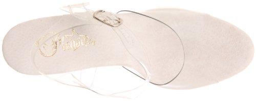 Pleaser Allure-608 - Plataforma Mujer Transparente (Transparent)