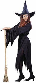 ... com women s clic witch halloween costume size ...  sc 1 st  The Halloween - aaasne & Womens Witch Halloween Costume - The Halloween