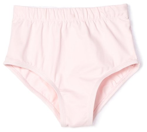 Danskin Little Girls' Heavyweight Trunk, Petal Pink, (Danskin Pink Skirt)