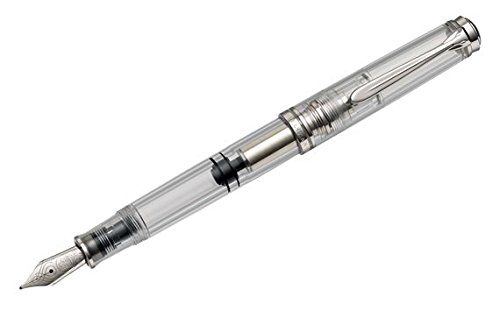 PELIKAN M805 Clear Demonstrator Extra Fine Fountain Pen, 957878 (30071015) by Pelikan