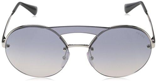 Silver Negro Prada Sol 65Ts Gafas Adulto de Unisex ARUzq6w