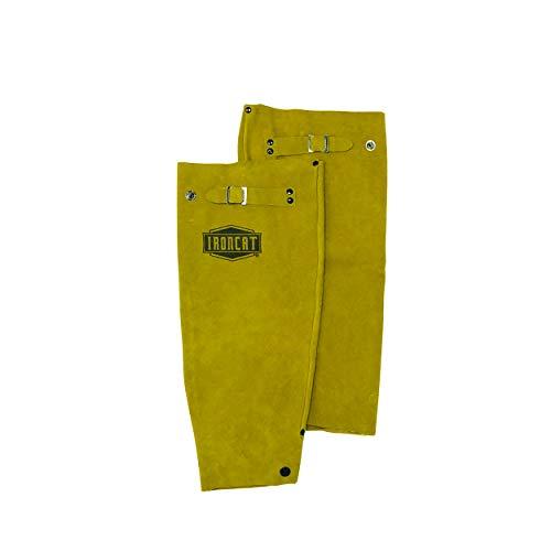 West Chester IRONCAT 7020 Heat Resistant Split Cowhide Leather Welding Sleeves: 18