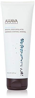 AHAVA Dead Sea Water Mineral Body Exfoliator, 6.8 Fl Oz