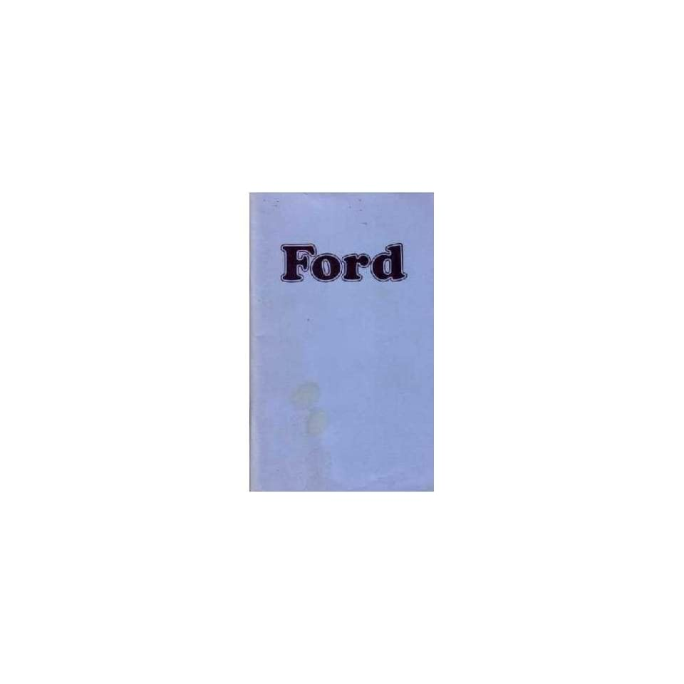 1974 Ford Galaxie Owners Manual User Guide Reference Operator Book Fuses Fluids