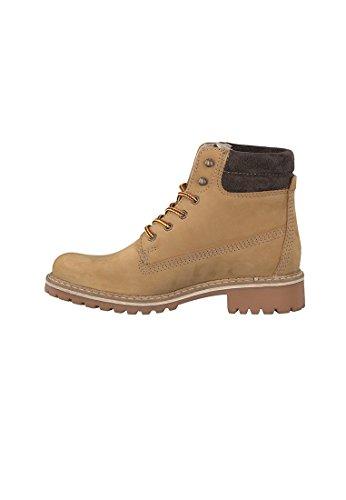 Stiefelette 25242 29 Schnürschuhe Beige Boots Corn Elegante 1 Derb 613 Gelb Nubuc Nubuc Tamaris Corn aFw8qzxtna