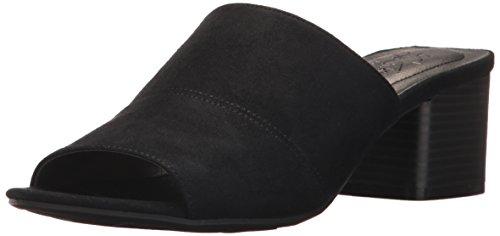 emix Slide Sandal, Black, 6.5 M US (Lifestride Flexible Comfort Sandal)