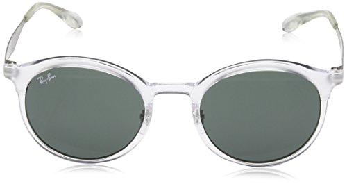 Ray-Ban Injected Unisex Round Sunglasses, Transparent, 51 mm by Ray-Ban (Image #2)