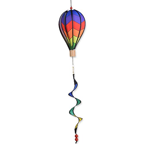 12 hot air balloon chevron design wind spinner by for Garden spinners premier designs