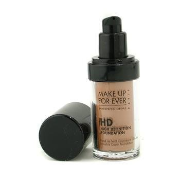 MAKE UP FOR EVER HD Invisible Cover Foundation 173 Amber 1.01 oz