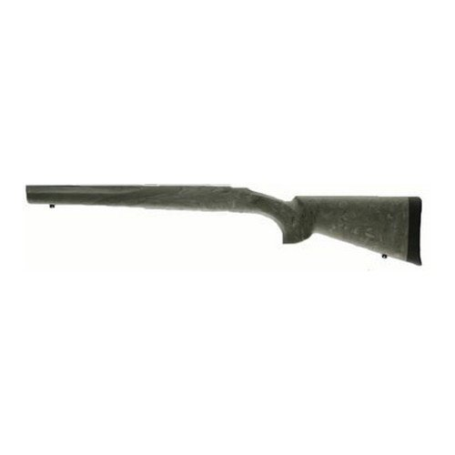 (Hogue 77803 Ruger 77 Mkii Long Action OverMolded Stock, Standard Barrel, Full Bed Block, Ghillie Green)
