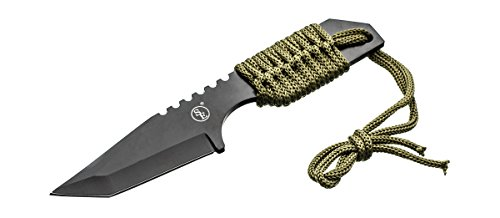 Blade Large Knife Camp (SE KHK6320 Outdoor Tanto Knife with Fire Starter)