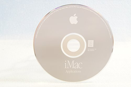 iMac Applications Genuine Macintosh Mac Part Number: 691-3316-A: CD Version 1.0-Apple Operating System Computer Software Program Replacement Disc PC