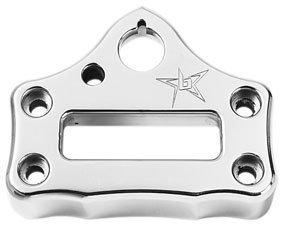 Blingstar (Q-YFZ450-BC P) Polished Handle Bar Clamp for Yamaha (Blingstar Billet)