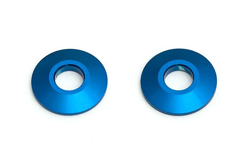 Team Associated Rear Axle Wheel Spacer, Blue