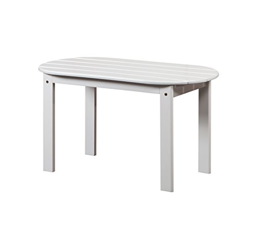 Linon 20154WHT-01-KD-U Jayde Adirondack Coffee Table, White (Coffee Adirondack Table)