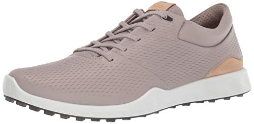 ECCO Women's S-Lite Golf Shoe, Moon Rock Yak Leather, 7 M - Golf Moon
