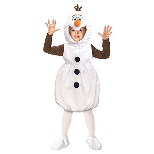 Disney Frozen Costume - Olaf Costume/Snowman Costume Toddler Size White -