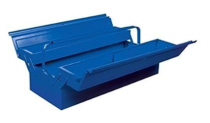 Caja metálica con asa plegable 530x200x160mm
