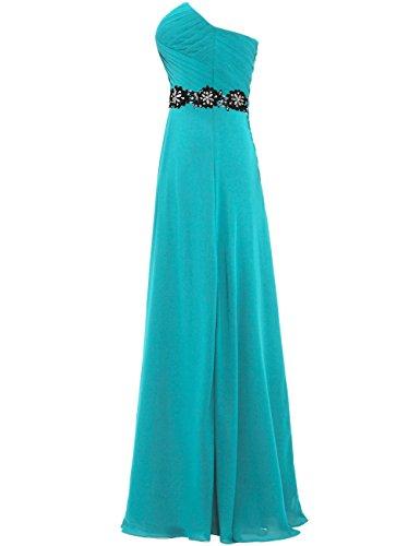 Strapless Weddings Chiffon for Dresses Jade Evening Women's Long ANTS 0twf5q0