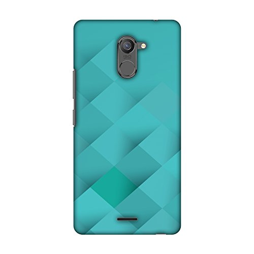 31TZdYE89uL AMZER Slim Designer Snap On Hard Shell Case Back Cover with Screen Care Kit for Infinix Hot 4 Pro - Intersections 6