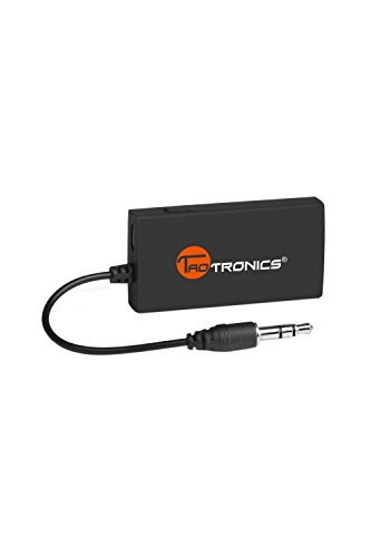 TaoTronics Wireless Portable Bluetooth  Transmitter Connected to 3.5mm Audio Devices, Paired with Bluetooth Receiver, TV Ears, Bluetooth Dongle, A2DP Stereo Music Transmission