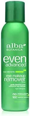 Alba Botanica Even Advanced, Sea Elements Eye Makeup Remover, 4 Ounce