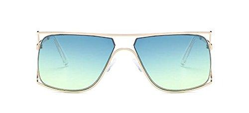 Lennon polarisées du Jaune rond Sous de vintage style cercle métallique retro lunettes inspirées en soleil Vert qwTnExF8R