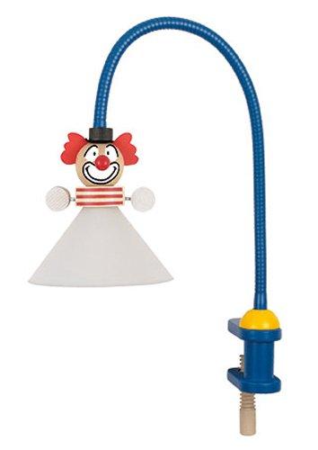 Niermann Standby Flex Clip On Lamp, Clown