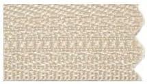 1 Zipper// Pack 29\ Vislon Zipper ~ YKK #5 Molded Plastic ~ Separating 573 Beige