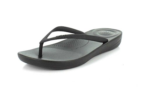 FitFlop Mujer All Negro iQushion Ergonomic Chanclas