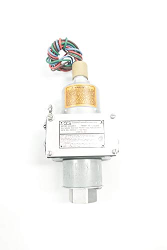 (CUSTOM CONTROL SENSORS 646GZE11 Pressure Switch 12-150PSI 480V-AC)