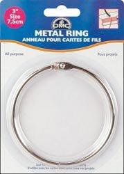DMC Bulk Buy Metal Rings 3 inch 1 Pack 6111D (6-Pack)