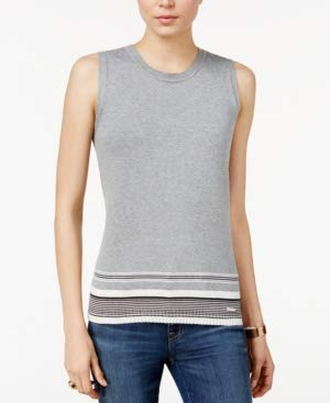 Tommy Hilfiger Women's Sleeveless Crew Neck Tank Top Size ()