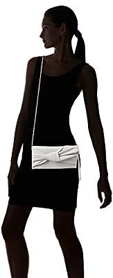 Max Studio Cira Linen Bow Clutch
