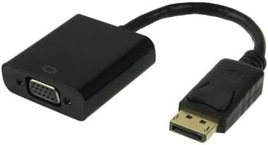 DVI Cables, Display Port macho a VGA hembra cable, longitud: 20 cm