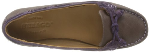 Marron Braun da Brown Donna Marrone Sebago 42 Mocassini Violet Zf6XqgR
