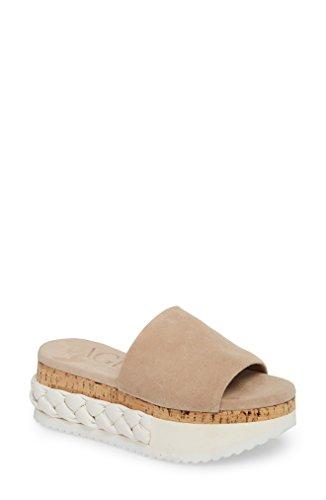 [エージーエル] レディース サンダル AGL Braided Flatform Slide Sandal (Women [並行輸入品]