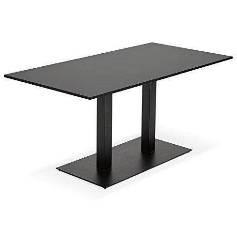 Alter Ego Alterego - Mesa/Escritorio Design Austin Negro - 160 x ...