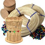 Camp Basket Kit (Makes 20 Baskets) V.I. Reed & Cane Inc.