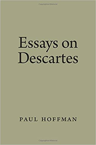 Amazon.com: Essays on Descartes (9780195321104): Paul Hoffman: Books
