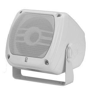 Poly-Planar Ma840 (W) Sub Compact Box Speaker 80 Wat (Poly Planar Dual Speaker)