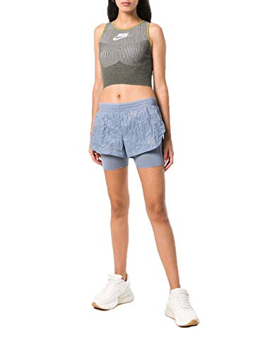 Rd 2 nbsp;in1 Slate nbsp;short Elevate Slate Multicolore Donna Nk nbsp;pantaloncini ashen Nike W ashen nbsp;– Sx1YAA