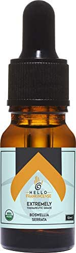 Hello Frankincense Oil Certified Organic Boswellia Extremely Therapeutic Grade