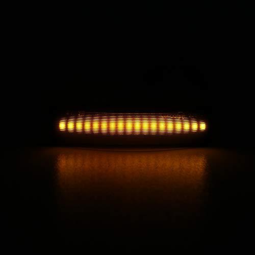 Indicatore di direzione LED nero compatibile con LR Discovery III RR Sport. Freelander II